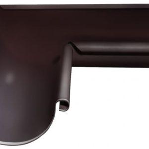 Угол желоба внутренний Optima 90 гр 125мм коричневый