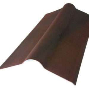 Конек элемент коричневый