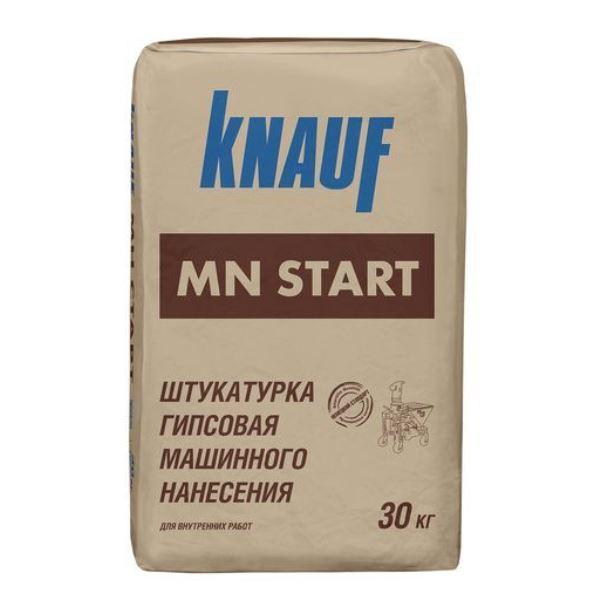 КНАУФ-МН СТАРТ 30кг Штукатурка гипсовая машинного нанесения для внутренних работ